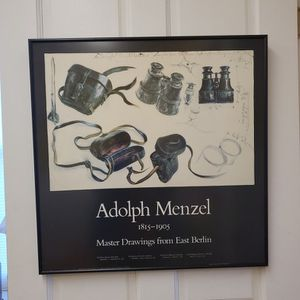 Adolphus Menzel Framed Print BINOCULARS for Sale in East Longmeadow, MA