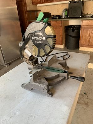 Hitachi miter saw for Sale in Bloomfield Hills, MI