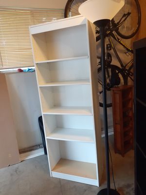 Bookshelf and lamp for Sale in Salem, OR