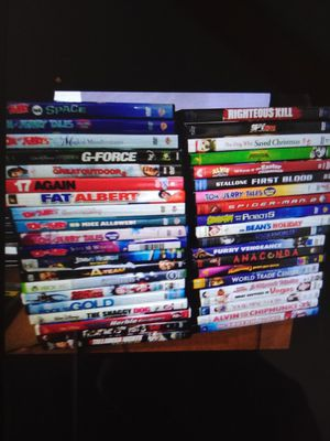 Huge lot dvds for Sale in Burbank, IL