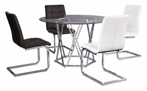 Dining set table & 4 chairs model d275 for Sale in Hialeah, FL