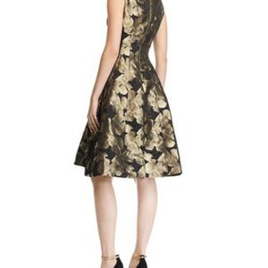 New York & Company Black & Gold A-Line Dress for Sale in Fort Washington, MD