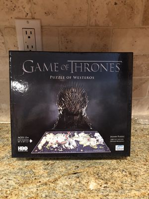 Game of Thrones 4D puzzle New!! for Sale in Lehigh Acres, FL
