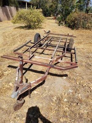 Toy Utility trailer with electric brakes STOLEN FROM FRONT YARD for Sale in Ontario, CA
