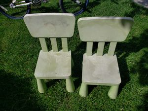 Plastic play chairs for Sale in Salt Lake City, UT