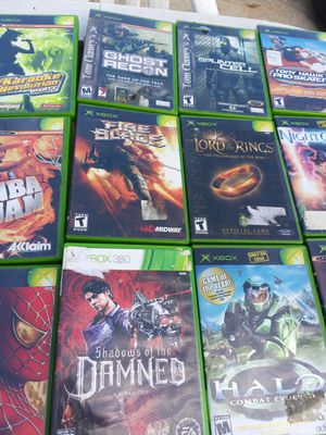 XBox game's rest of pictures from first post for Sale in Waldorf, MD