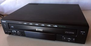 Five Disc CD carousel player for Sale in Broomfield, CO