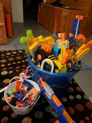 Nerf Guns and Accessories for Sale in Bloomingdale, IL