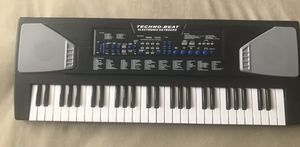 Techno Beat 54 Key Electronic Keyboard 100 Instruments Rhythms Melodies for Sale in Las Vegas, NV