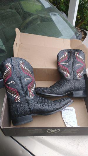 Black cowboy boots for Sale in Port Allen, LA