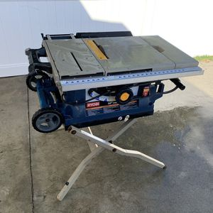 "Ryobi 10"" Portable Table Saw Tools for Sale in Paramount, CA"