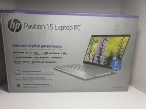 HP Pavilion 15-cs0051wm 15.6in Touchscreen Notebook PC - Intel Core i5-8250U 8GB RAM 16GB IntelOptane Memory 1TB HD Windows 10 for Sale in Carson, CA