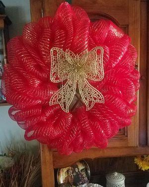 Handmade mesh wreath. for Sale in Woodbridge Township, NJ
