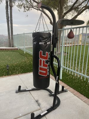 150bl/home gym/Punching bag/speed bag/stand/new/Delivery for Sale in Corona, CA