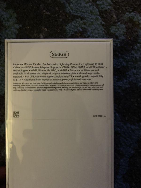 iPhone X's max 256Gb