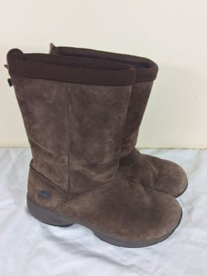Merrell Boots Womens Size 9 Brown Primo Chill Massif Chocolate Suede Fleece Lined for Sale in Severn, MD