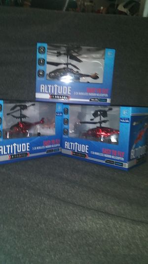Altitude Wireless indoor helicopter for Sale in Indianapolis, IN