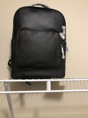 Black coach backpack for Sale in McDonough, GA