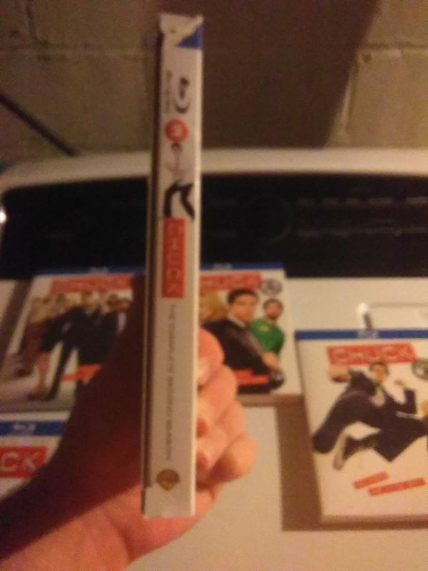 Chuck complete Blu-ray collection seasons 1-5