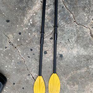 Plastic Paddles For Small Boat/Canoe/Kayak for Sale in Orlando, FL