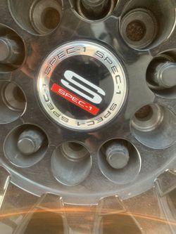 18 inch black rims for Sale in Live Oak,  TX