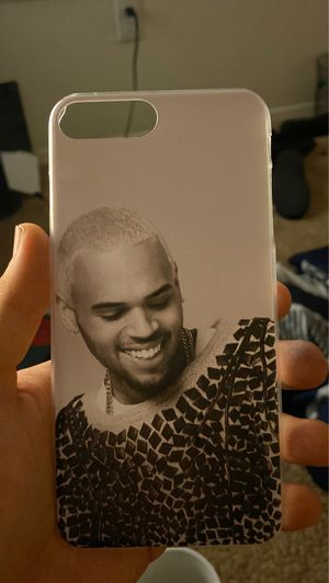 Chris Brown IPhone Hard Case for Sale in Beaufort, SC