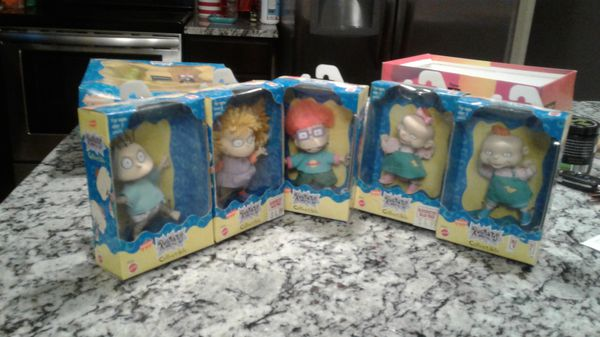 Rugrats action figues.