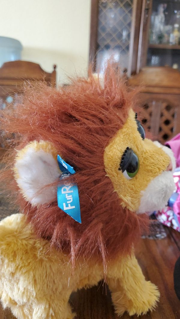 FurReal friends lion