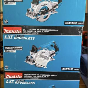 Makita Circular Skill Saw Kit With 2 Batteries, Charger, Bag for Sale in West Covina, CA
