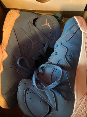 Used, Jordans 7 baby blue & white for Sale for sale  Queens, NY