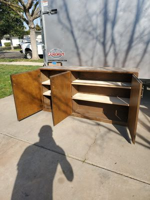 Wooden storage cabinet for Sale in Fresno, CA