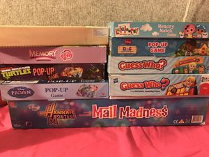 Games and puzzles for Sale in Webster, NY
