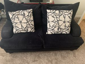 Black sectional couch (two pieces) for Sale in Vancouver, WA