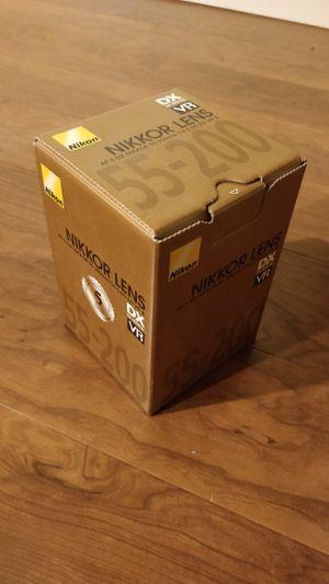 Nikon (Nikkor) lens 55-200 for Sale in Sterling, VA