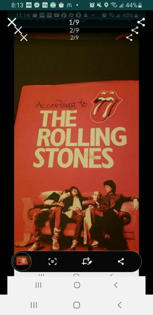 Peoria az According to the Rolling Stones big book hardcover please read description for pick up location options for Sale in Sun City, AZ