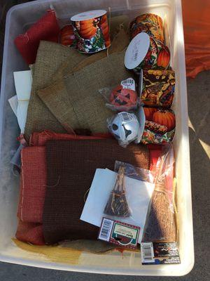 Halloween craft supplies for Sale in Baldwin Park, CA