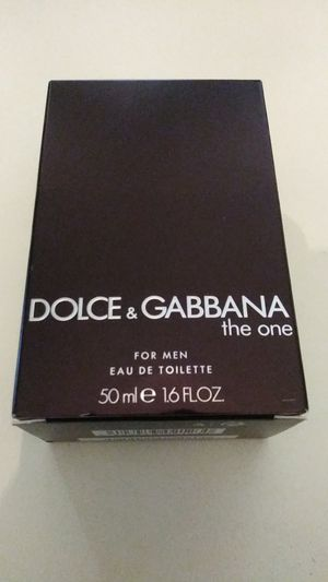Brand new (never used) dolce & gabbana the one 50ml 1.6floz cologne in great shape and condition just need gone please its (urgent) for Sale in Pinellas Park, FL