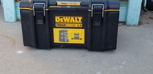 dewalt tool box 12x22(no wheels) for Sale in Buena Park,  CA