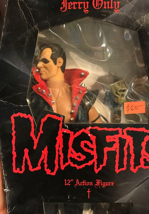 """Misfits Jerry Only 12"""" action figure collectible $60"""