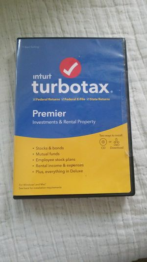 2019 TurboTax Premier for Sale in Gresham, OR