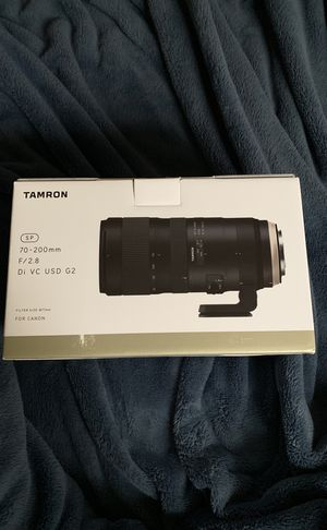 Tamron 70-200 f2.8 G2 for canon for Sale in Detroit, MI