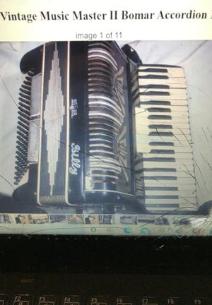 Accordion Music Master II Bomar, Italy for Sale in Staten Island, NY