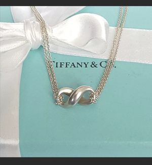 Tiffany's infinity necklace for Sale in Amherst, OH