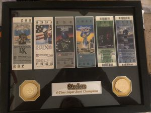 PITTSBURGH STEELERS SB CHAMPIONSHIP TICKET COLLECTION for Sale in Melbourne, FL