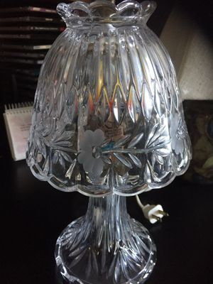 Small glass lamp for Sale in Sykesville, MD