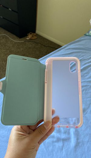 iphone x case with card holder for Sale in National City, CA
