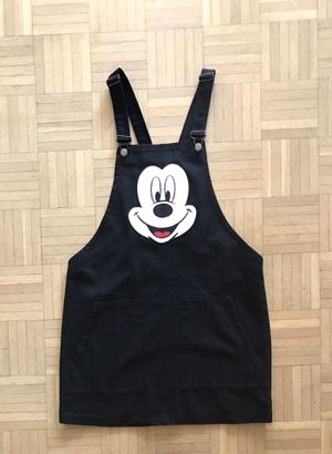 Disney Mickey Mouse Overall Short Dress with Front Pockets (L) for Sale in Los Angeles, CA