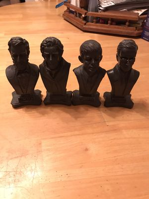 Presidents set of four figures for Sale in Eugene, OR