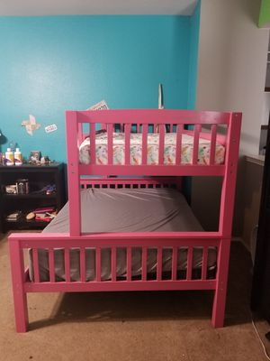 Pink Bunk Bed for Sale in Arlington, TX