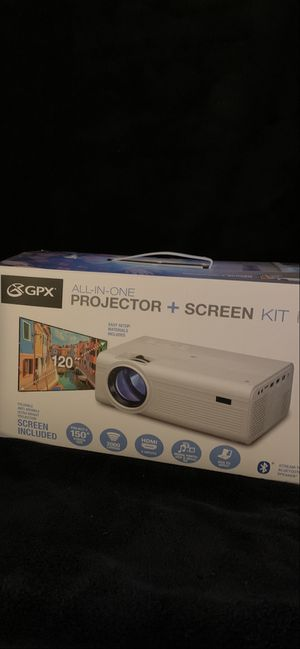 """Projector, up to 150"""" of tv. Educationals Movies and sports will never be the same. New, never used, still in original form for Sale in Memphis, TN"""